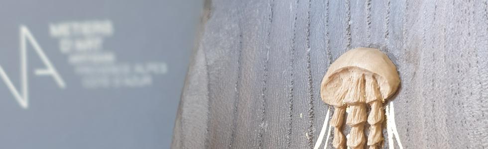 méduses sculpture petite