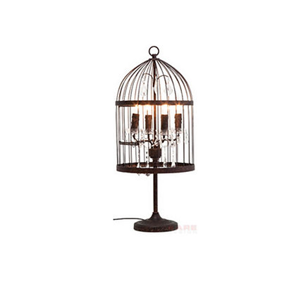 Table Lamp Cage Chandelier
