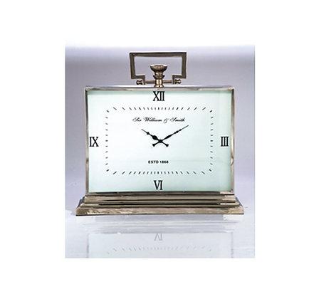 Table Clock Sir William & Smith Medium Alu