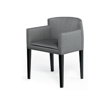 bow back dining arm chair