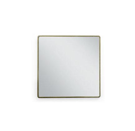 brushed bronze mirror