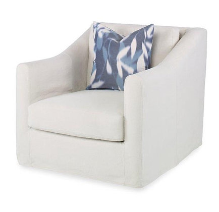 Lounge chair with slipcover