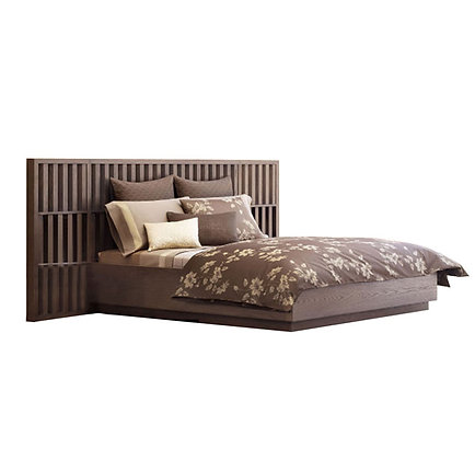 Angled bed
