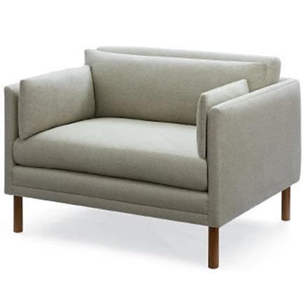 Narrow arm chair 1/2