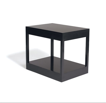 lacquer rectangular end table