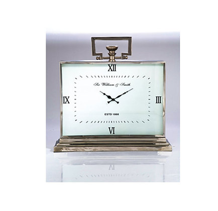 Table Clock Sir William & Smith Big Alu