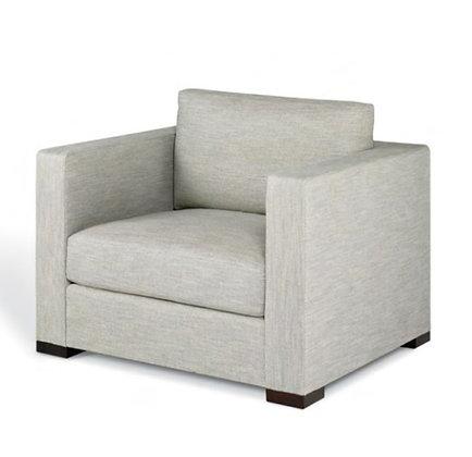 Tuxedo arm chair