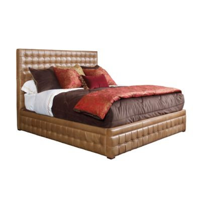 Henredon Leather Company BED, 6/6 (King)