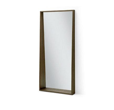 angled floor mirror
