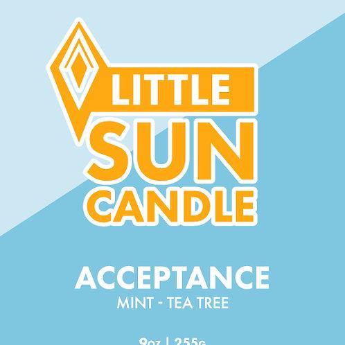 ACCEPTANCE 9oz Little Sun Candle