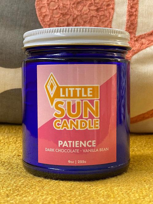 PATIENCE 9oz Little Sun Candle