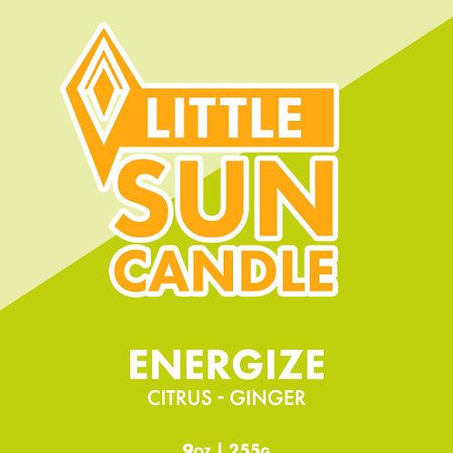 ENERGIZE 9oz Little Sun Candle