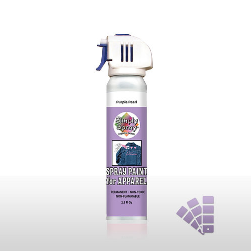 Simply Spray Stencil Paint - Purple Pearl