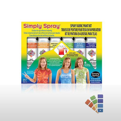 Soft Fabric Paint Kit - Party