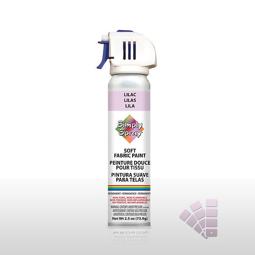 Simply Spray Soft Fabric Paint - Lilac