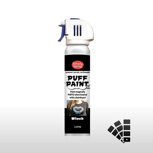 Simply Spray Puff Paint - Black