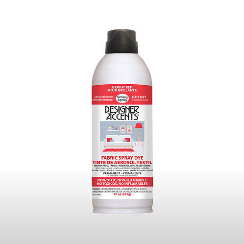 Simply Spray Upholstery Fabric Paint - Brite Red