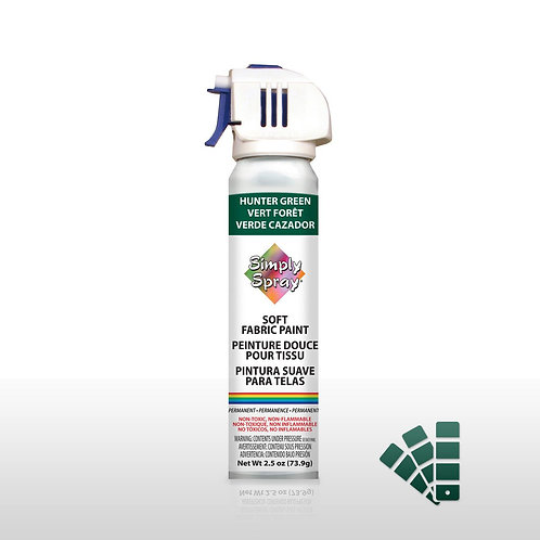 Simply Spray Soft Fabric Paint - Hunter Green