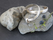 Heavy 8mm D wire bangles