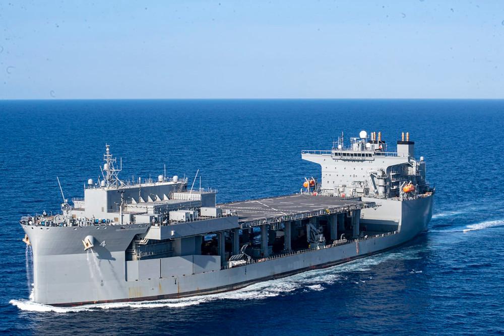 """USS Hershel """"Woody"""" Williams da Marinha dos EUA"""