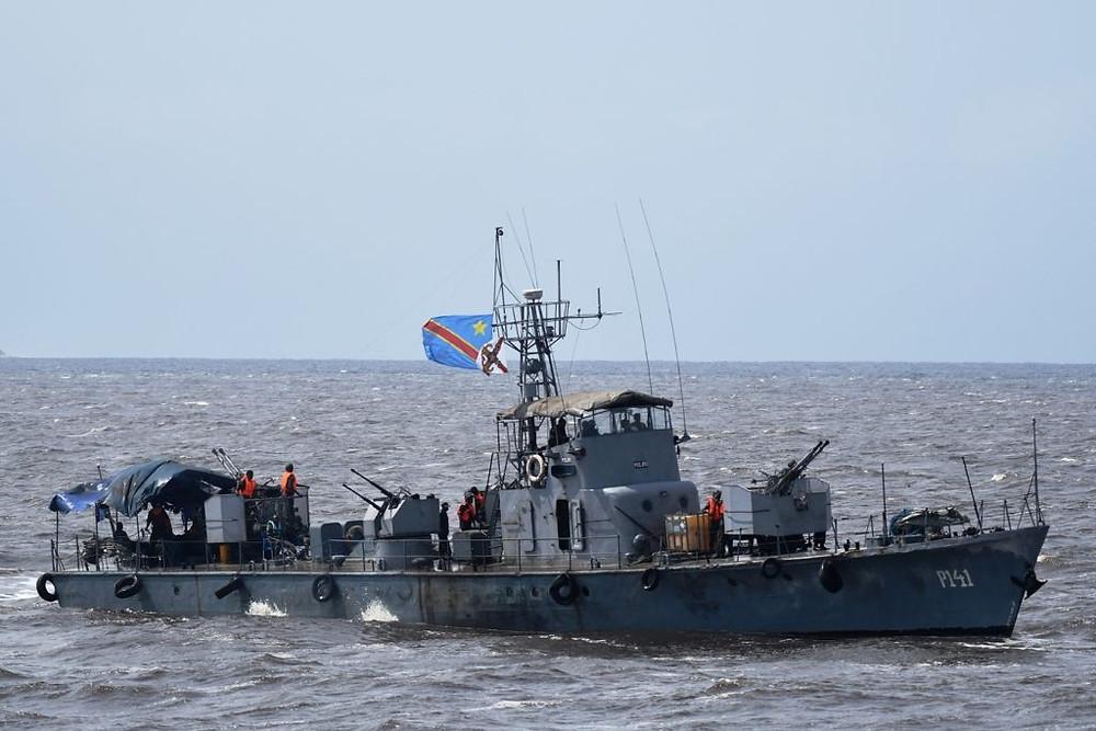 Moliro – P141 classe Hainan/Type 62 chinesa da Marinha do Congo