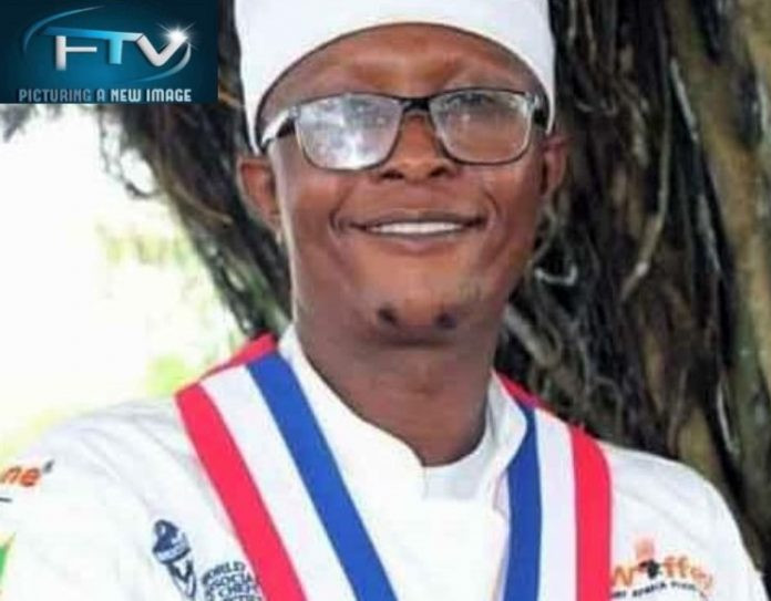 Alex Yamah, Presidente da União de Chefs profissionais da Libéria