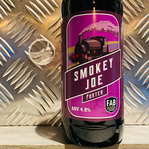 Ferry Ales Brewery / Lincolnshire 🇬🇧 SMOKEY JOE PORTER 🚂 stout