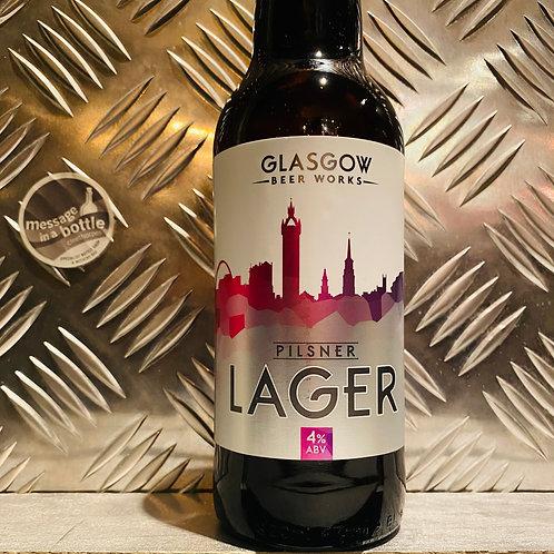 Glasgow Beer Works 🇬🇧 PILSNER Lager + German Hops