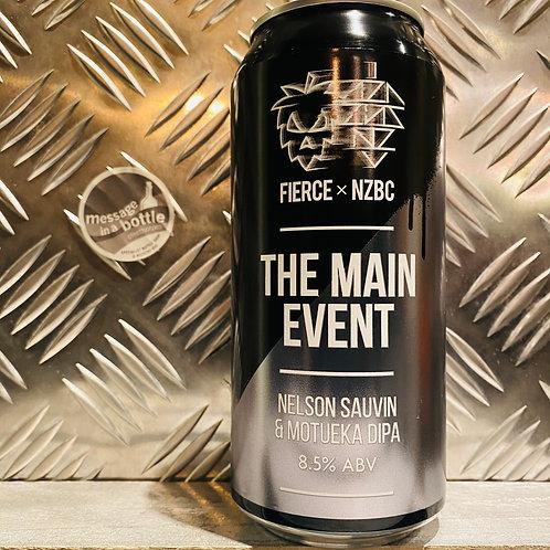 Fierce Beer 🇬🇧 THE MAIN EVENT : Nelson Sauvin & Motueka DIPA / Double IPA
