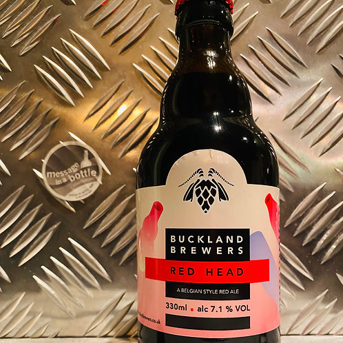 Buckland Brewers 🇬🇧 RED HEAD : Belgian Style Red Ale