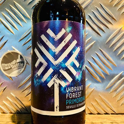 Vibrant Forest 🇬🇧 primordial : seville schwarzbier / black lager & pomegranate