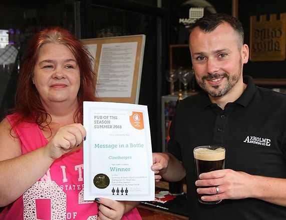 ⭐️ We've won an award! 🍺🏆⭐️ We are del