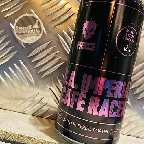 Fierce Beer 🇬🇧 B.A. IMPERIAL CAFE RACER : Barrel Aged Imperial Porter