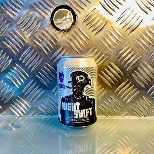 Fierce Beer - night shift : black ipa