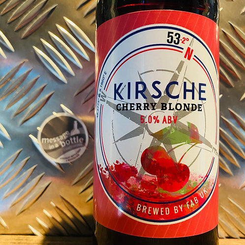 Ferry Ales Brewery, Lincolnshire 🇬🇧 KIRSCHE 🍒 cherry blonde / pale ale
