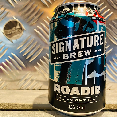 Signature Brew 🇬🇧 ROADIE : all-night ipa / session india pale ale