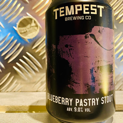 Tempest 🇬🇧 BLUEBERRY PASTRY STOUT : imperial fruit stout