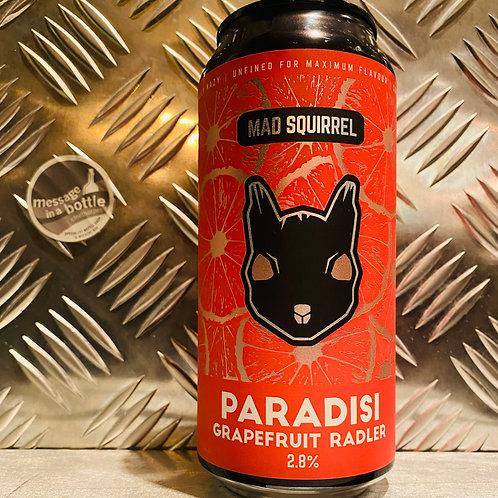 Mad Squirrel 🇬🇧 PARADISI : Grapefruit Radler / Shandy