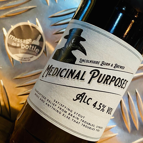 Lincolnshire Brewing Co 🇬🇧  medicinal purposes : satisfying stout