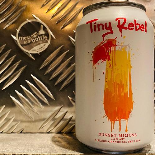 Tiny Rebel 🇬🇧 SUNSET MIMOSA : A Blood Orange Lil Brut IPA