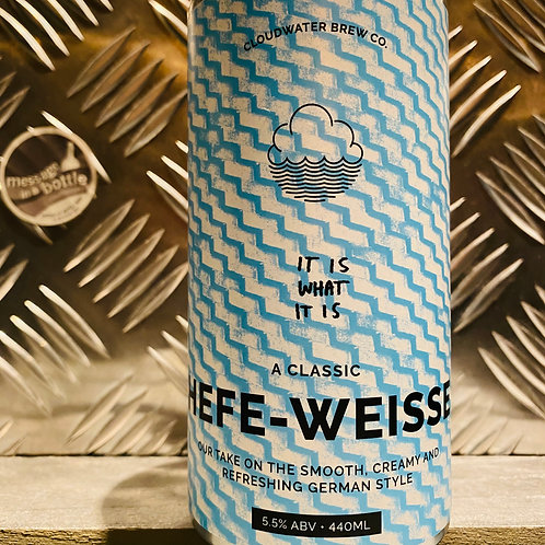 CLOUDWATER 🇬🇧 it is what it is : hefe-weisse / german style wheat beer