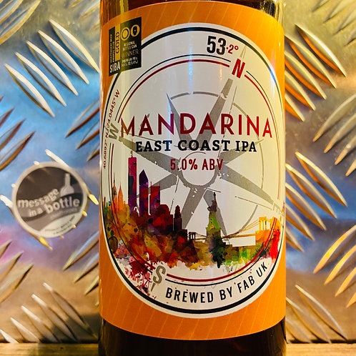 Ferry Ales Brewery - mandarina : east coast ipa