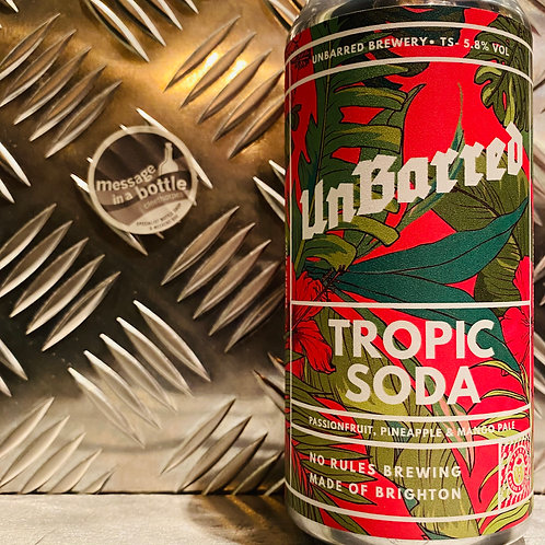 UnBarred 🇬🇧 TROPIC SODA : Passionfruit, Pineapple & Mango Pale Ale