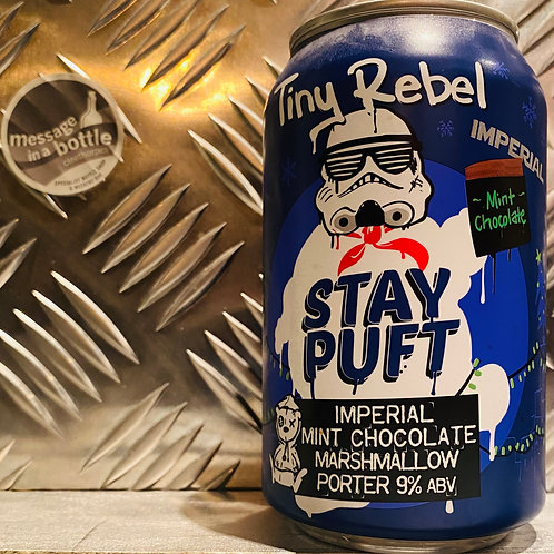 Tiny Rebel 🇬🇧 STAY PUFT : IMPERIAL MINT CHOCOLATE MARSHMALLOW PORTER