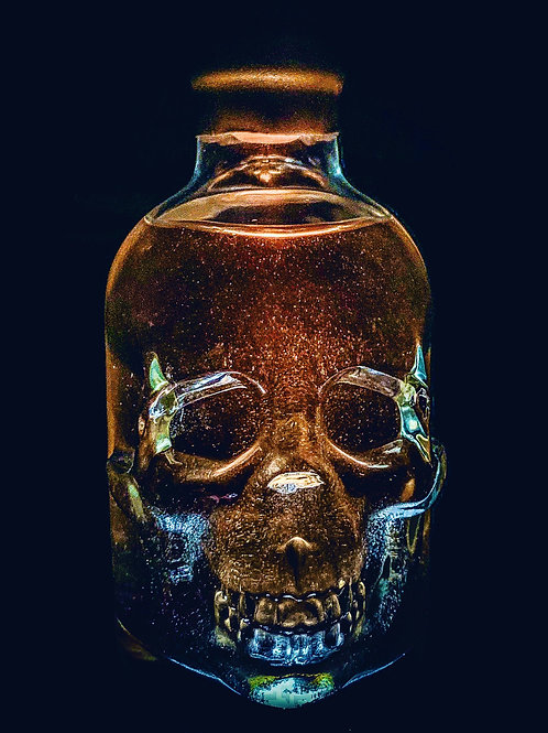 ✨💀✨ SPARKLE SKULL Butterscotch Cleethorpes Rum | 700ML Large Bottle