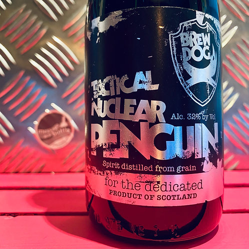 BrewDog 🇬🇧 TACTICAL NUCLEAR PENGUIN 🐧 Freeze Distilled Beer | Charity Sale 🐧