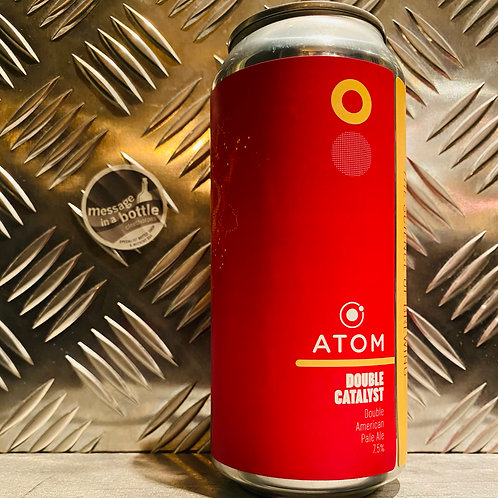 Atom Brewing Co. 🇬🇧 DOUBLE CATALYST : Double American Pale Ale / DIPA