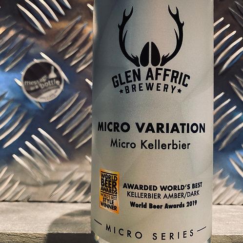 Glen Affric 🇬🇧 MICRO VARIATION world's best kellerbier 🏆 lager
