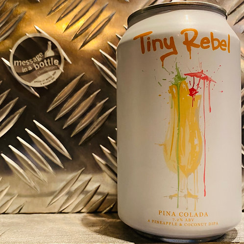 Tiny Rebel 🇬🇧 PIÑA COLADA : A Pineapple & Coconut DIPA / Double IPA