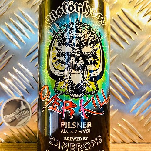 Motörhead X Camerons 🇬🇧 overkill : pilsner / lager